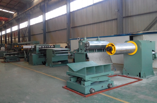 High Speed Silicon Steel Slitting Line