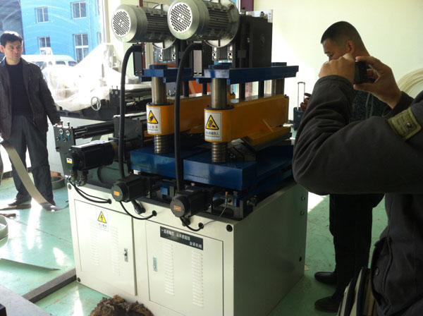 Transformer center limb cutting machine