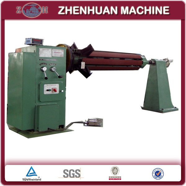 Traditional Horizontal Coil Winding Machine