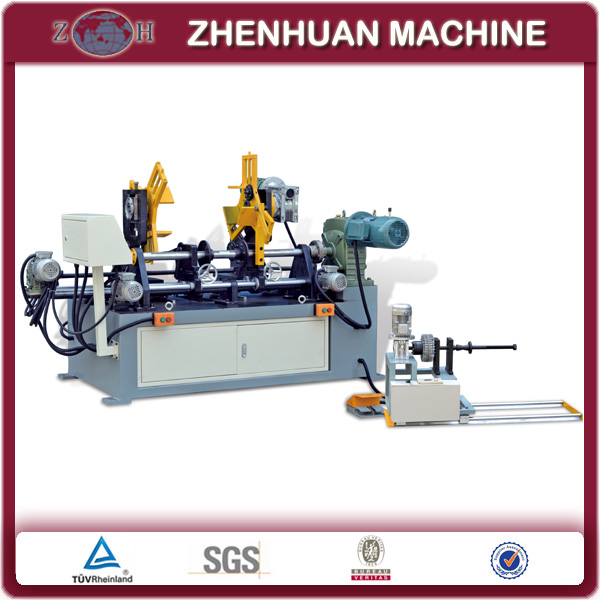 Coil winding machine for wound core