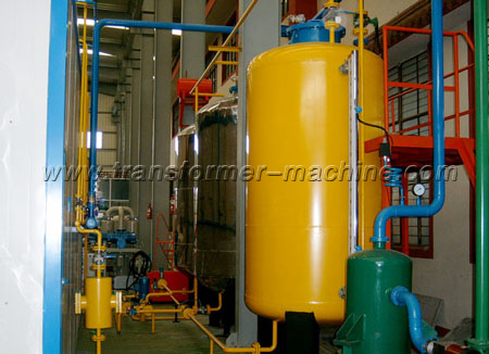Vacuum oil treatment equipment